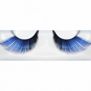 Lösögonfransar, blå/svart XL