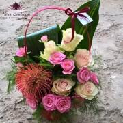 Cos cu flori de toamna CF036