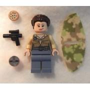New Lego Star Wars Princess Leia Minifigure 75094 Minifig Figure Tydirium Endor