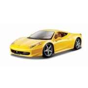 Ferrari 458 Italia - galben - 1 24