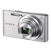 Sony Cámara Compacta SONY DSC W830 (Plata - 20.1 MP - ISO: 80 a 3200 - Zoom Óptico: 8x)