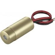 Modul laser 0,4 mW, lumină roşie tip punct, Laserfuchs LFD650-0.4-12(9x20)