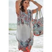 Strandtáska az olasz David Beachwear márka Jaipur kollekciójából, 36x46 cm