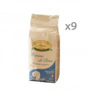 Riso Melotti 9 confezioni - Farina di Riso 1 Kg
