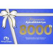 Fittprotein Online Ajándékkártya Férfiaknak 8000Ft értékben