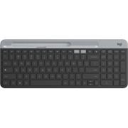 Logitech - K580 Multi-Device Chrome OS Edition Wireless Membrane Keyboard - Graphite