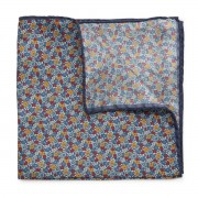 Pocket square with plant pattern 9631