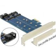 PCI Express Kártya > 2 x Belső M.2 NGFF