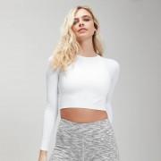 Mp Top corto Shape Seamless - Bianco - XL