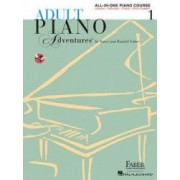 Adult Piano Adventures All-In-One Lesson Book 1 A Comprehensive Piano Course
