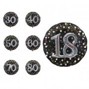 Liragram Globo de Burbujas de Champagne gigante con número 3D de 81 cm - Número 50