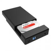 ORICO 3588US3 USB 3.0 Type-B 2.5 / 3.5 inch SSD / SATA HDD Enclosure Storage Hard Disk Box for Laptop Computer Desktop PC(Black)