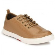 ZebX Sneakers Tan Casual Shoes