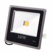 Proiector LED SMD 30W Economic Slim 6500K Lumina Rece 220V de Interior si Exterior Rezistent la Apa IP66 Iluminare pt Ca