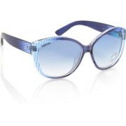 Fastrack Oval Sunglasses(Blue)