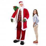 Пеещ и танцуващ Дядо Коледа 200 см.