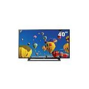 "TV LED 40"" Full HD Sony KDL-40R355B com Motionflow 120Hz, Rádio FM, Entrada HDMI e Entrada USB"