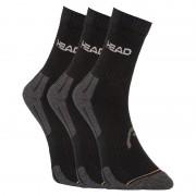Head 3PACK ponožky HEAD černé (741019001 200) L