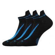 Voxx 3PACK ponožky Voxx černé (Rex 10) M
