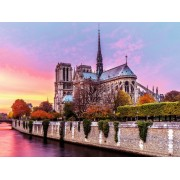 Puzzle Ravensburger - Pictura Notre Dame, 1500 Piese