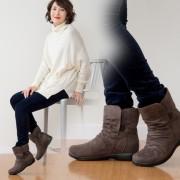 ALL DAY Walk 3E インヒールブーツ【QVC】40代・50代レディースファッション