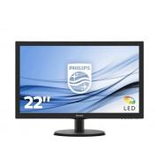 Philips LCD-monitor met SmartControl Lite 223V5LHSB2/00