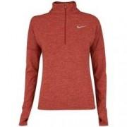 Nike Camiseta Manga Longa Nike Dry Element HZ - Feminina - VERMELHO