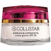 Collistar Iluminatoare Cremă de Zi + Energie Luminozitate SPF 20 (Ziua Cream) 50 ml