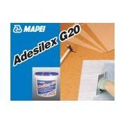 ADESILEX G20, set predozat 10kg Adeziv epoxi-poliuretanic pentru interior sau exterior cu vascozitate redusa. Lipeste cauciuc, PVC, linoleum, Mapei