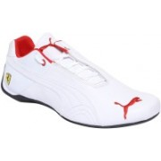 Puma Ferrari Future Cat Leather SF - Motorsport Shoes For Men(White)