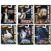 Hot Wheels Pop Culture Star Wars 2015 Complete Set