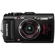 Цифров фотоапарат Olympus Stylus Tough TG-4, 16MP, черен/червен