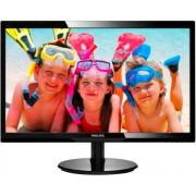 """Philips 246v5lsb Monitor Led - Display W-Led 24"""" Wide 16:9 - Full-Hd - Contrasto 10.000.000:1 - Luminosità 250 Cd/m² - Contrasto 1000:1 - Risposta 5ms - Risoluzione 1920 X 1080 Nero - 246v5lsb"""