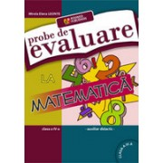 Probe de evaluare la matematica clasa a IV. Auxiliar didactic.