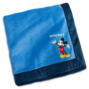 OFFICIAL DISNEY Mickey Mouse Plush Blanket for Baby 30' X 40""