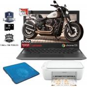 Laptop Lenovo Chromebook 11 Amd A4 32gb Ram 4gb + Kit