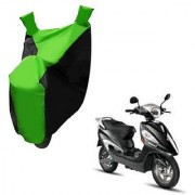 AutoAge Two Wheeler Green Colour Cover for Hero Electric Bikes Electric Maxi