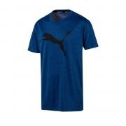 Puma Funktionsshirt atmungsaktiv - Herren - blau meliert in Größe 60/62