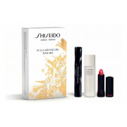 SHISEIDO FULL LASH VOLUME MASCARA BLACK BK 901 8 ML + MAKEUP REMOVER + ROUGE RUBY