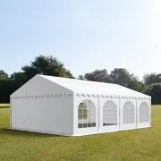TOOLPORT Partytent 5x8m PVC 500 g/m² wit waterdicht Gartenzelt, Festzelt, Pavillon