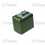 2-Power Videokamera Batteri Canon 7.4v 2400mAh (BP-2L24H)