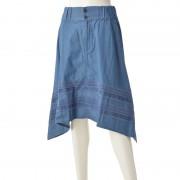 DEBUTTO キュートなデニムスカート【QVC】40代・50代レディースファッション