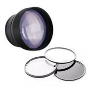 Digital Nc Canon PowerShot G5 X 2,2 x de alta grado Super teleobjetivo + lente/adaptador de filtro + Kit de filtro