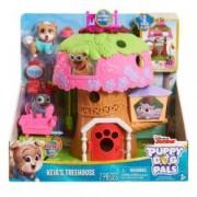 Set de joaca Puppy Dog Pals - Casuta din copac