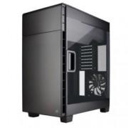 Кутия Corsair Carbide Series Clear 600C, Mini-ITX/mATX/ATX/EATX, 2x USB 3.0, прозрачен капак, черен, без захранване, по поръчка