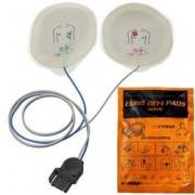 coppia piastre elettrodi monopaziente per defibrillatori medtronic lif