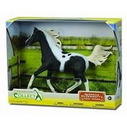 Collect A Half Arabian Stallion Pinto In Window Box (1:12 Scale)