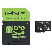PNY Micro Sd Class 10 16gb + Sd Adapter