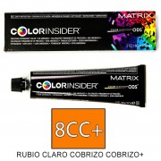 Matrix Color Insider 8CC+ RUBIO CL COBRIZO PROF tinte 60gr.