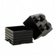 Cutie depozitare LEGO 2x2 negru 40031733